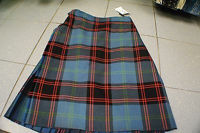 EXHIRE 100% Wool Scottish KILT MADE IN SCOTLAND - Hume Kilt