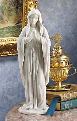Virgin Mary Sculpture Bonded Marble Statue Our Lady