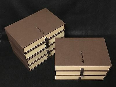Pre-Owned LOUIS VUITTON Box 7 set Wallet Purse Empty Box Free shipping F/S