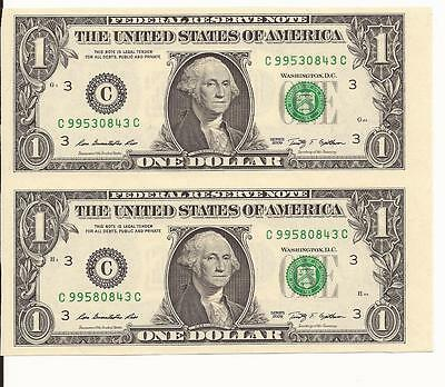 UNCUT SHEET $1 X2 Legal USA $1 DOLLAR Real Currency Note/Rare Money GIFT MONEY.