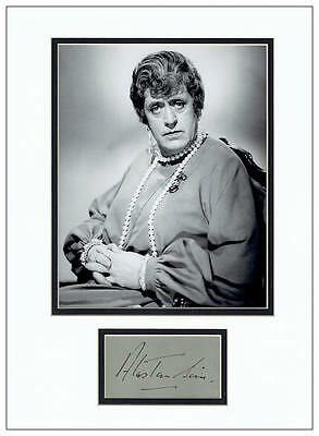 Alastair Sim Autograph Signed Display - St Trinian's - AFTAL  UACC RD