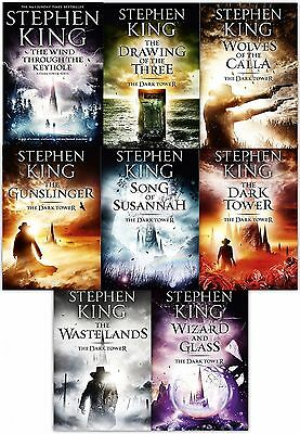 Stephen King The Dark Tower Collection 8 Books Box Set Gift Pack (Book 1-8)
