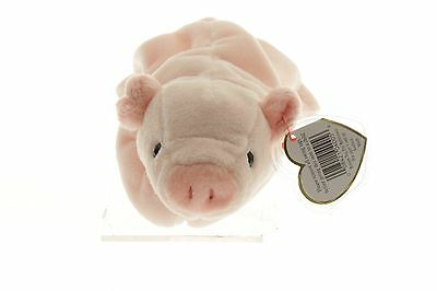 Retired Ty Beanie Baby Squealer Pig 1993