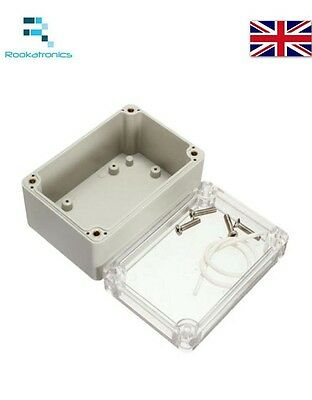Waterproof Plastic Electronic Project Cover Box Enclosure Case 100x68x50mm