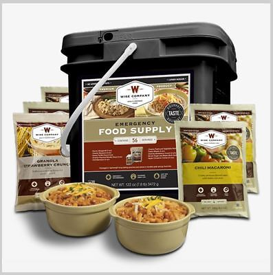 Wise Food 56 Servings –Breakfast & Entrées - Long-term, Survival, Emergency Food
