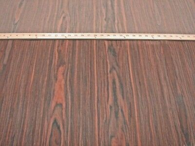 "Rosewood composite wood veneer 24"" x 48"" on paper backer 1/40"" thickness (#450)"