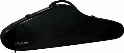 Valentino Featherlight Fibre-reinforced VIOLIN CASE, black. At Hobgoblin Music