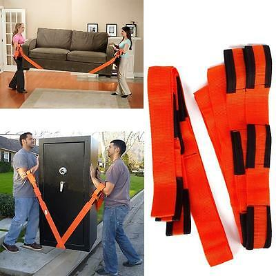 1Pair Forearm Forklift Lifting And Moving Straps To Easily Carry Furniture Magic