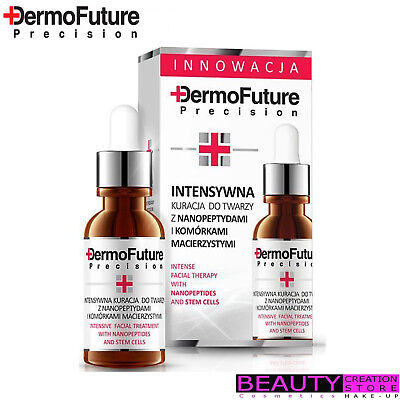 DERMOFUTURE Intense Facial Therapy With Nanopeptides And Steam Cells 20ml DF008
