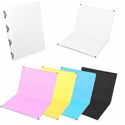 Studio Photography Shooting Tables Top Background Stand + 5Pcs Paper Backdrops