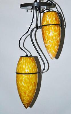Vintage Lemon Glass Ceiling Lights - FREE Shiipping [PL2582]