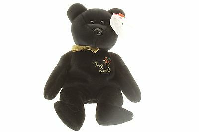 Retired Original Ty Beanie Baby The End 1999