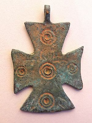 Large Ancient Byzantine Cross pendant.
