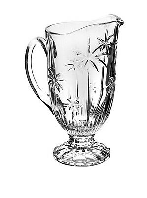 Godinger PALM CRYSTAL PITCHER 44 OZS