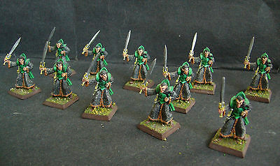 ral partha dungeons & dragons 11x elf & sword pro painted miniature figure Rare