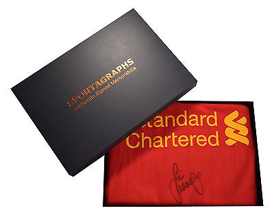 Jamie Carragher SIGNED Autograph Official BNWT Liverpool Shirt Gift Box PROOF