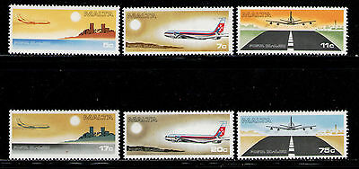 MALTA 1978 MNH SC.C9/C14 Air Mail