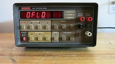 Keithley 195 System DMM-Passes Self Test