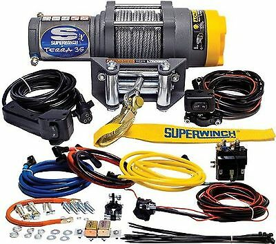 Superwinch 1135220 Terra 35 3500lbs/1591kg single line pull with roller fairl...