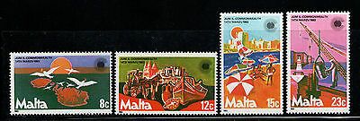 MALTA 1983 MNH SC.623/626 Commonwealth Day