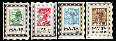 MALTA 1985 MNH SC.653/656 post Officce Cent.