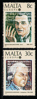 MALTA 1985 MNH SC.660/661 Europe Issue CEPT,Composers