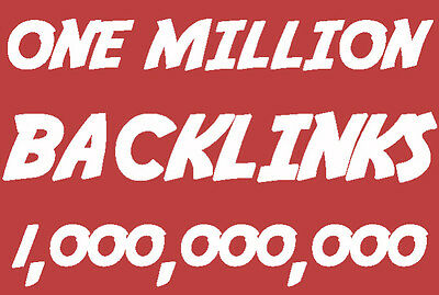 1,000,000 SEO Website Backlinks + Article Submission to 7,500 Directories!