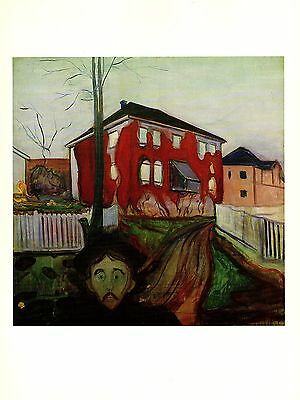 "1970 Vintage MUNCH /""FERTILITY/"" COLOR offset Lithograph"