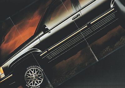 1993 Jeep GRAND CHEROKEE Brochure / Poster: 4WD
