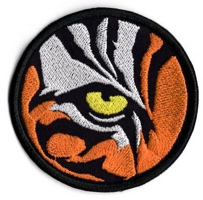 Tiger's Eye Patch Animal Eye Badge King of the Jungle Iron or Sew on Badge Patch