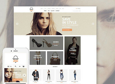 Apparel Responsive Magento Theme - Complete Fashion Clothing E-commerce Website