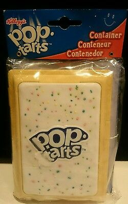 Kellogg's Pop Tarts Toaster Pastries Container Lunch Box Plastic NEW!