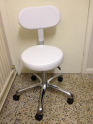 Salon Beauty Spa Tattoo Studio Doctor  Master Stool Chair Cl-D 9920 White