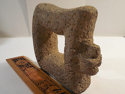 Rare Nicoya Stone Avain Mano Pestle Pre-Columbian Archaic Ancient Artifact Mayan