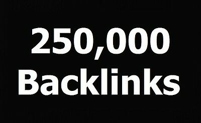 250,000 SEO Backlinks + Report + Increase Visitors & Links To Your Website!