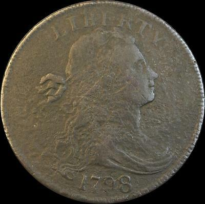 1798 Draped Bust~Large Cent~