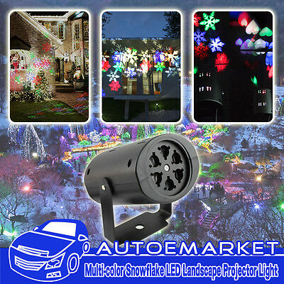 Christmas Decoration Led Light Auto Moving Snowflake Indoor Projector Party Lamp