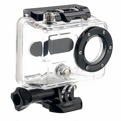 For Gopro HD Hero 1 /2 Underwater Camera  Housing Case Transparent Waterproof