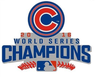 2016 Cubs World Series Champions Collectible Pin $6.49 Save $3.00 Ships 11/26