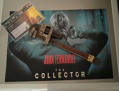 The collector killers tool Horror 2009 (AUTHENTIC) Film Movie prop warehouse COA