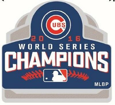 2016 Chicago Cubs World Series Champs 3D Style Pin $7.49 Save $3.00 Ships 11/26