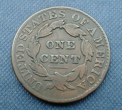 1831 Usa Large One Cent