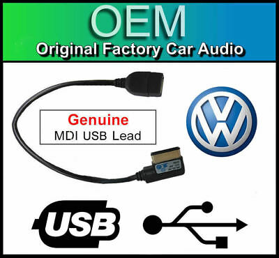 VW MDI USB lead, VW Golf MK6 media in interface cable adapter