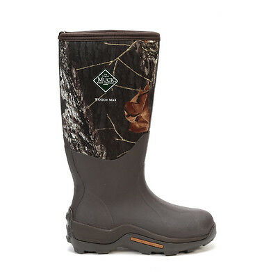 Muck WDM-MOBU Woody Max Cold-Conditions Hunting Boot MOSSY OAK
