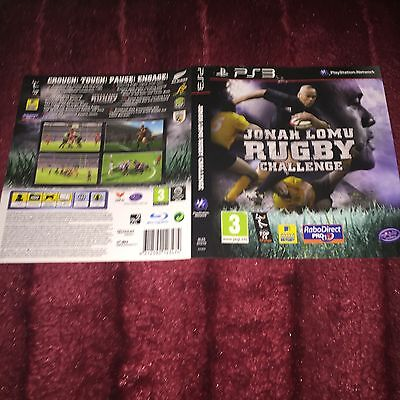 cover artwork for Jonah Lomu Rugby Challenge Ps3 NO GAME DISC INCLUDED