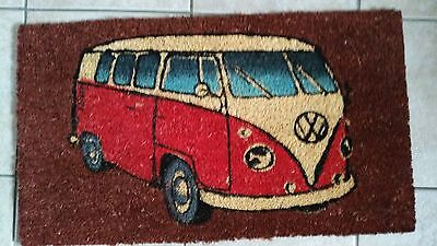 Vw coir campervan door mat