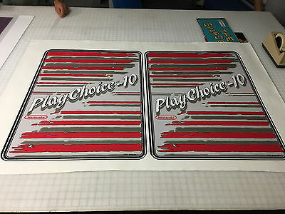 Play Choice 10 Arcade Game Side Art Decals