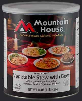 Mountain House #10 Can: Vegetable Stew with Beef - Emergency Survival Food