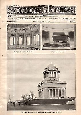 1897 Scientific American May 1 -Ribbon photography; Horseless carriages Brussels