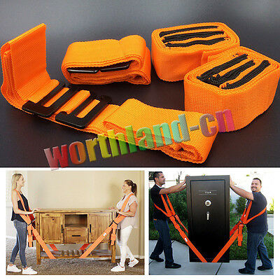 Lifting Shoulder Straps Moving Lift Aid Tool Heavy Furniture Appliances Dolly